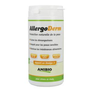 Allergoderm : protection de la peau pour chiens et chats - Anibio