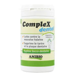 CompleX dental : Hygiène bucco-dentaire pour chien et chat - Anibio