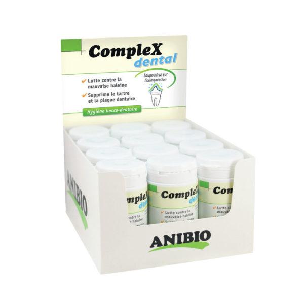 Présentoir complex Dental - hygiène bucco-dentaire - Anibio
