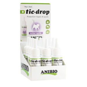 Présentoir Tic-drop Anibio
