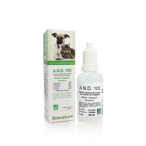 A.N.D 103 Équilibre nerveux - Bionature