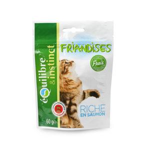 Friandises pour chats - Riche en saumon - Équilibre & Instinct