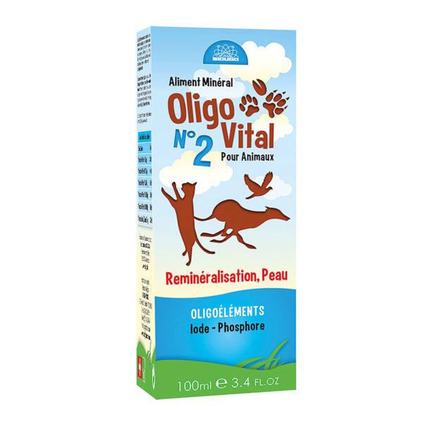 Oligo Vital Reminéralisation Peau - 100 ml