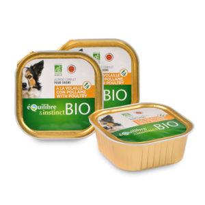 Terrine pour chien à la volaille et légumes Bio